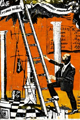 jacobs ladder, graphic, art, myth, daryl thetford, art, southern